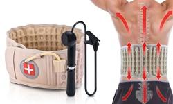Decompression Back Belt Lumbar Support Belt Lumbar Support Air Traction Belt