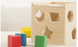 Melissa & Doug Shape Sorting Cube - Classic Toy