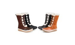 Journee Collection Womens Comfort Foam Blizzard Winter Boot