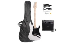 ST Stylish Electric Guitar with Black Pickguard Multi-Color