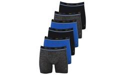Sand Storm Men's Tagless Comfort Performance Boxer Briefs (6-Pack; S-5XL)