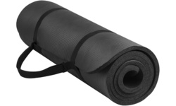 Health and Fitness Comfort Foam Yoga Mat Thick Non-Slip with Carrying Strap