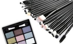 LAROMNI Professional Makeup Brush Set ( 20-Piece)