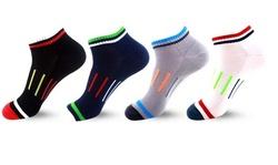 XTF Low Cut Quick Dry Compression Socks (4-Pairs)