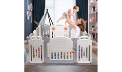 Baby Folding playpen Kids Activity Centre Safety Play Yard Home