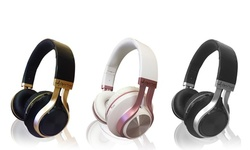 Aduro Resonance Foldable Wireless Bluetooth Headphones