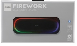 MUZE Firework Light Up Bluetooth Speaker