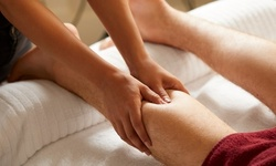 One Full-Body, Chair, or Combination Massage at Relax Reflexology (Up to 38% Off). Eight Options Available.