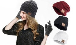 Wireless Bluetooth Sport Music Hat Smart Headset Beanie Cap Winter Hat Speaker