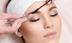 Eyebrow and Eyelash Services at Beauty By LOVE (Up to 47% Off). 10 Options Available.