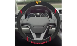"""Fanmats NHL 15"""" Universal Faux Suede Steering Wheel Cover"""