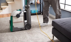 Carpet or Upholstery Cleaning, or Pet Stain Removal from Atlantic Cleaning Team (Up to 24% Off). Four Options.