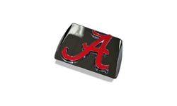 NCAA Chrome Hitch Cover with Color Emblem