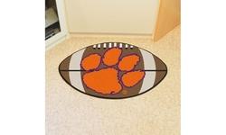 """Fanmats NCAA Non-Skid Team Logo 20.5"""" x 32.5""""Football Mat"""