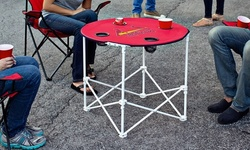 """MLB 30"""" x 30"""" Collapsible Round Table"""