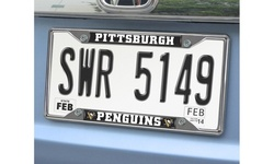 Fanmats NHL License Plate Frame