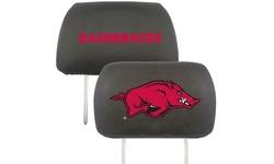 Fanmats NCAA Universal Team Logo Headrest Covers (2-Pack)