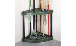 Sto-Away Yard Tool Corner Storage Rack