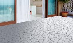 Pure Garden Interlocking Patio and Deck Tiles