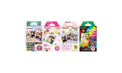 Fujifilm Instax Mini Instant Film Set (4-Pack)