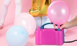 PUMP Dual Nozzle Electric Balloon Pump