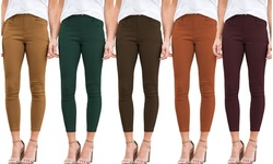 Reflection Women's Cotton Blend Pull-On Jeggings. Plus Sizes Available.