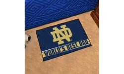 """Fanmats NCAA Worlds Best Dad Floor Mat 19""""x30"""""""