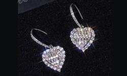 Leo Rosi Women's Love Heart Earrings