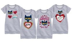 Instant Message: Pete the Cat Girls' Valentine's Dress