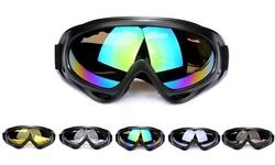 Ski Snow Goggles Anti Wind Fog Dust UV Protection Snowboard Snowmobile