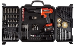 Stalwart 20V Lithium-Ion Cordless Drill (71- or 89-Piece Set)