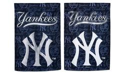 MLB Suede Glitter Garden Flags