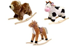 Happy Trails Plush Rocking Toys