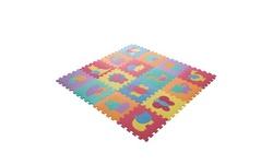 16 Piece Interlocking Foam Tile Animal Play Mat