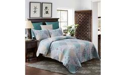 Urban Home Collection Reversible Quilt 3 Piece Set