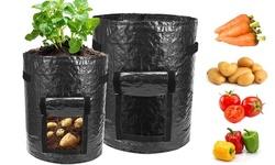 2Pack Potato Grow Bags Flap Access Garden Vegetables Planter Bags