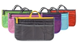 iMounTEK Large Travel Tote Handbag/Purse Insert Organizer