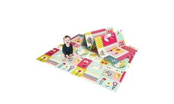 Costway Folding Baby Play Mat Toddler Kids Crawling Mat Double Sides 71''x79''