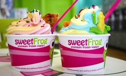 $5.62 for $10 Worth of Frozen Yoghurt for Takeout at SweetFrog - Premium Frozen Yogurt