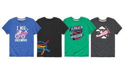 Instant Message: Kids Trucks, Unicorns, and Planes Tees