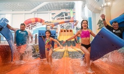 Stay with Four Tom Foolerys Adventure Park Passes at Kalahari Resorts & Conventions in Round Rock, TX