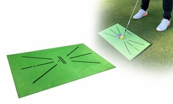 Golf Traning Mat Detection Batting Mini Golf Practice Training Turf Mat