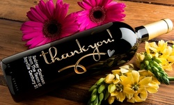 One or Two Custom-Engraved Bottles of Wine from Etchedwine.com  (Up to $82.01 Off)