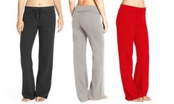 Women's Valentines Yoga Lounge Pants ( Plus Size Available)