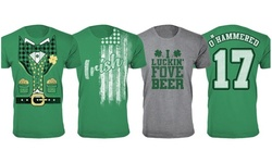 Men's St. Patrick's Day Lucky T-Shirts (Extended Sizes Available)