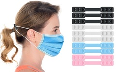 10-Pack : Mask Strap Extender and Ear Saver