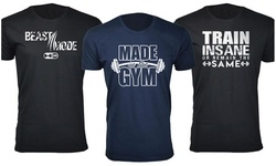 Men's Funny Gym Workout T-Shirts #2 (Extended Sizes Available)