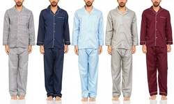 Ezi Mens Cotton Pajama PJ Set