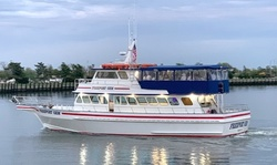 $1,100 for Two-Hour Boat Rental for Cruise of Up to 100 or 120 Guests at Freeport Charter Boats ($1,700 Value)