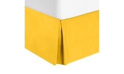 Nestl Bedding Pleated Bed Skirt - Luxury Microfiber Dust Ruffle
